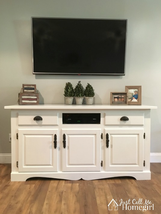 Buffet into TV Console