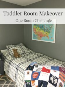 Toddler Room Makeover Reveal – One Room Challenge