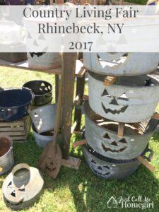 Country Living Fair Rhinebeck NY – 2017