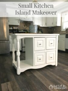 Small Kitchen Island Makeover
