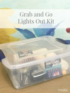 Lights Out Kit and Winter Pantry Stock Up