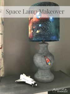 Space Lamp Makeover