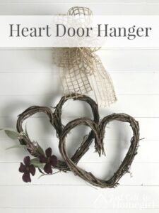 Grapevine Heart Door Hanger