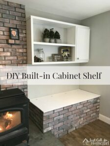 DIY Wood Stove Built-in
