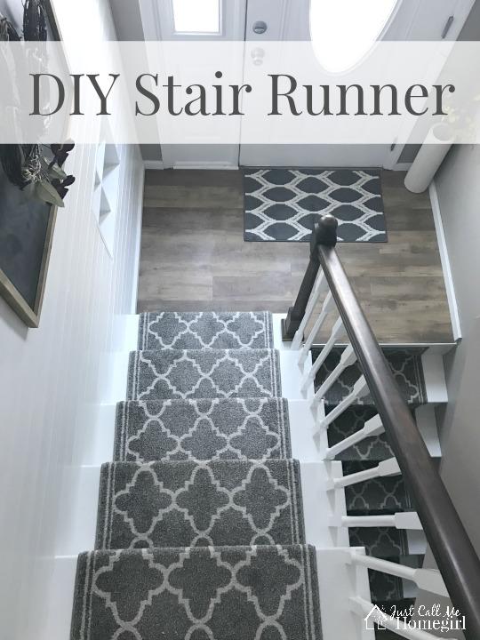 Diy Stair Runner Just Call Me Homegirl