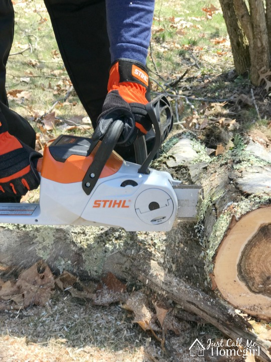Storm and spring clean up with the help of stihl just call me homegirl when i was done logging the tree the hubs started clearing the logs and putting them into the woods shed i used that time to start clearing some of the keyboard keysfo Gallery