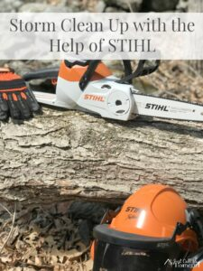 Storm and Spring Clean Up with the Help of STIHL