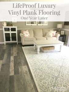 1 Year with LifeProof Luxury Vinyl Plank Flooring