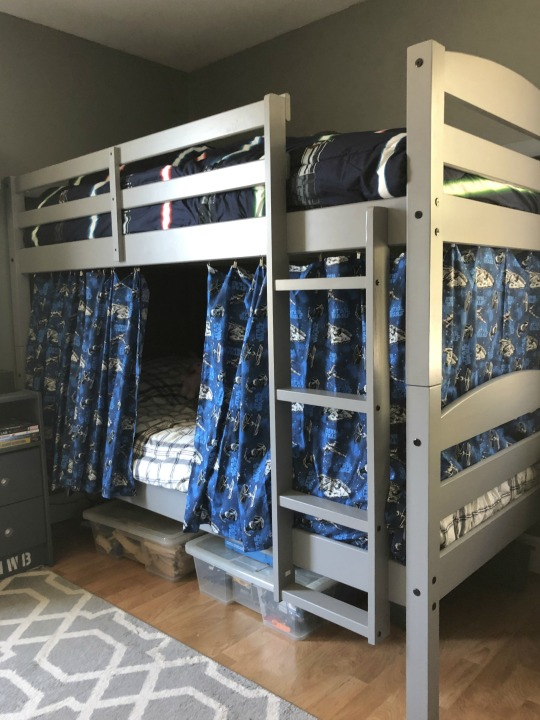 How To Make Bunk Beds Into A Fort With, Loft Bed Curtains Diy