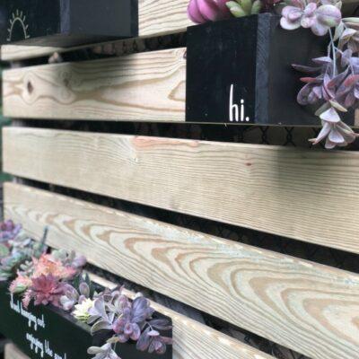 DIY Planter Boxes Customized With Cricut's Explore Air 2