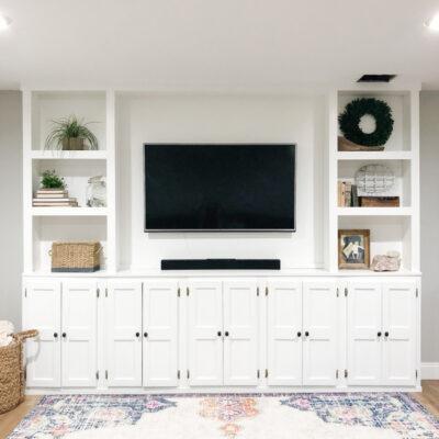 DIY TV Built-Ins